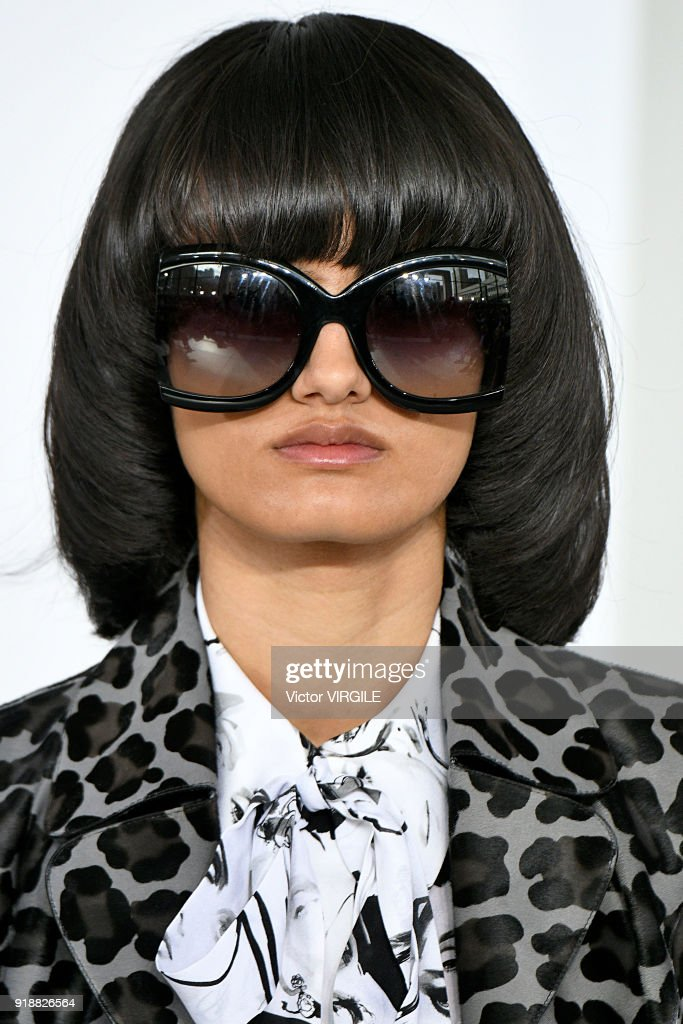 A model walks the runway at the Michael Kors Ready to Wear Fall/Winter 2018-2019 fashion show during New York Fashion Week on February 14, 2018 in New York City.