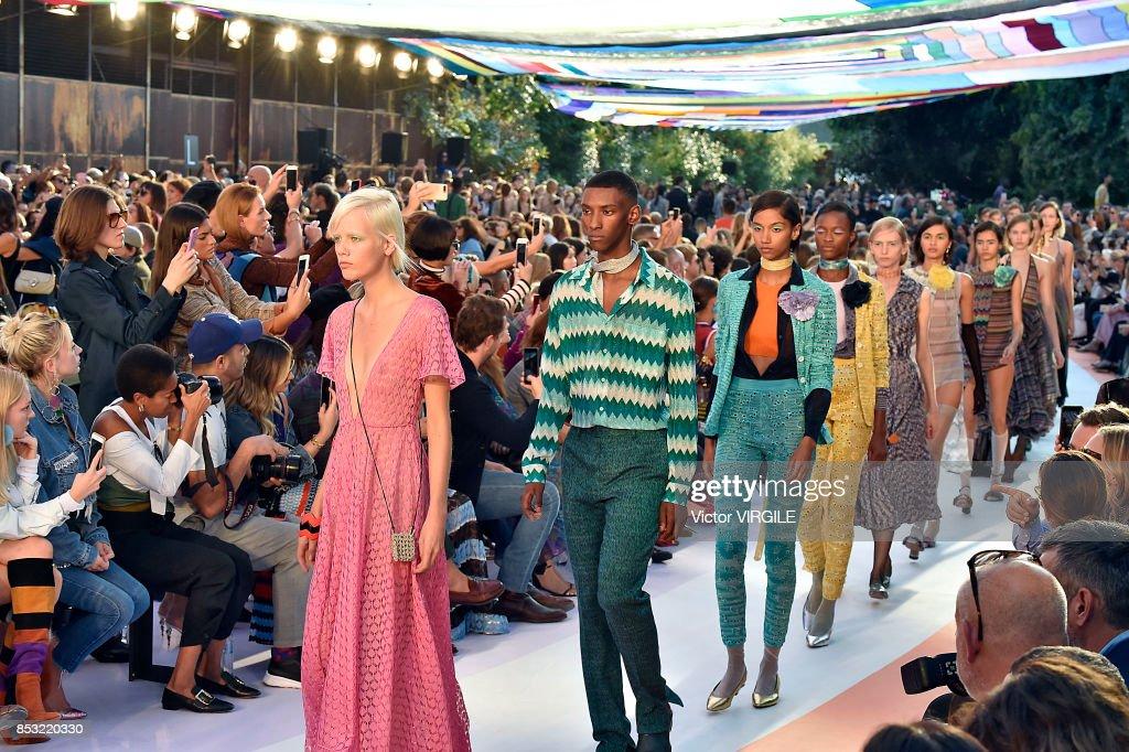 Missoni - Runway - Milan Fashion Week Spring/Summer 2018 : News Photo