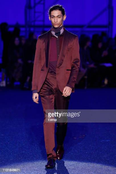 c6564e87d204 A model walks the runway at the Missoni show at Milan Fashion Week  Autumn Winter