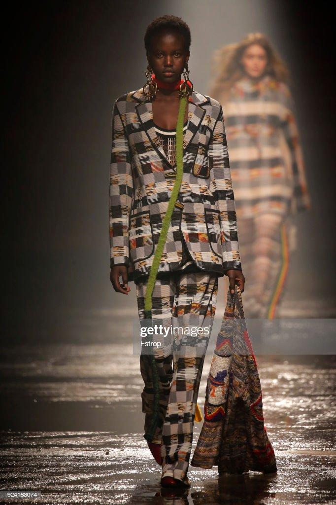 Missoni - Runway - Milan Fashion Week Fall/Winter 2018/19 : Fotografia de notícias