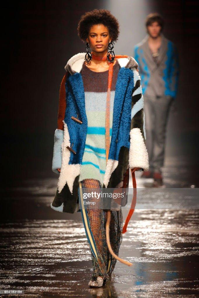 Missoni - Runway - Milan Fashion Week Fall/Winter 2018/19 : ニュース写真