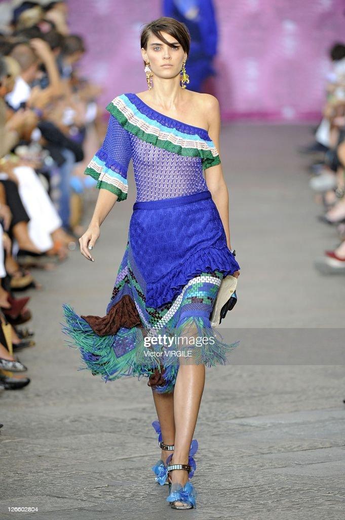8e6c26fabdc0 Missoni - Milan Fashion Week Womenswear Spring Summer 2012   News Photo