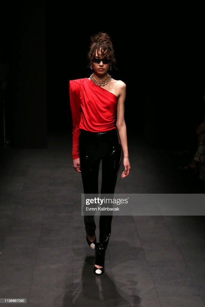 M.O.F.C Eda Gungor - Runway - Mercedes-Benz Fashion Week Istanbul - March 2019 : News Photo