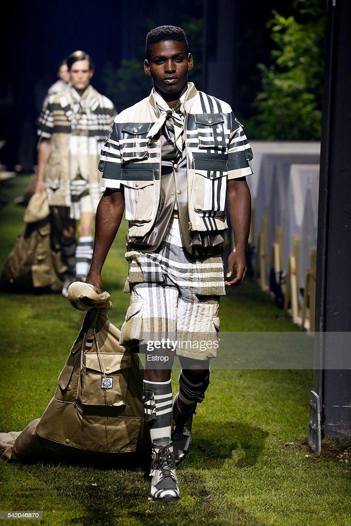 Moncler Gamme Bleu - Runway -  Milan Men's Fashion Week SS17 : News Photo