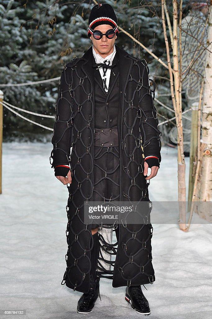 Moncler Gamme Bleu - Runway - Milan Men's Fashion Week Fall/Winter 2017/18 : News Photo