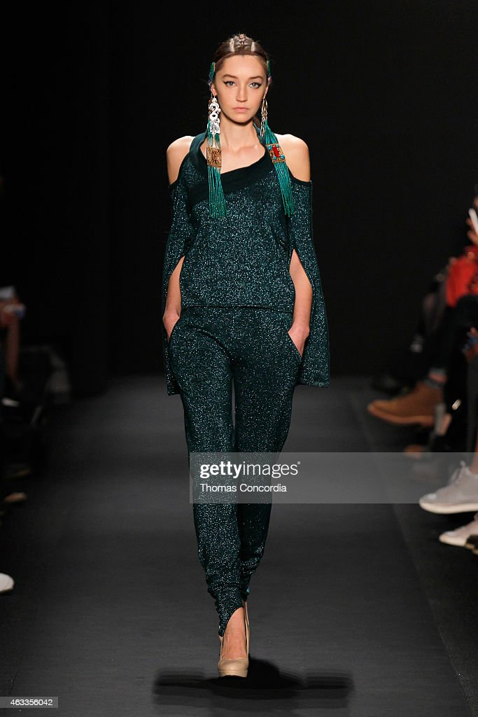 Mongol - Runway - Mercedes-Benz Fashion Week Fall 2015 : News Photo