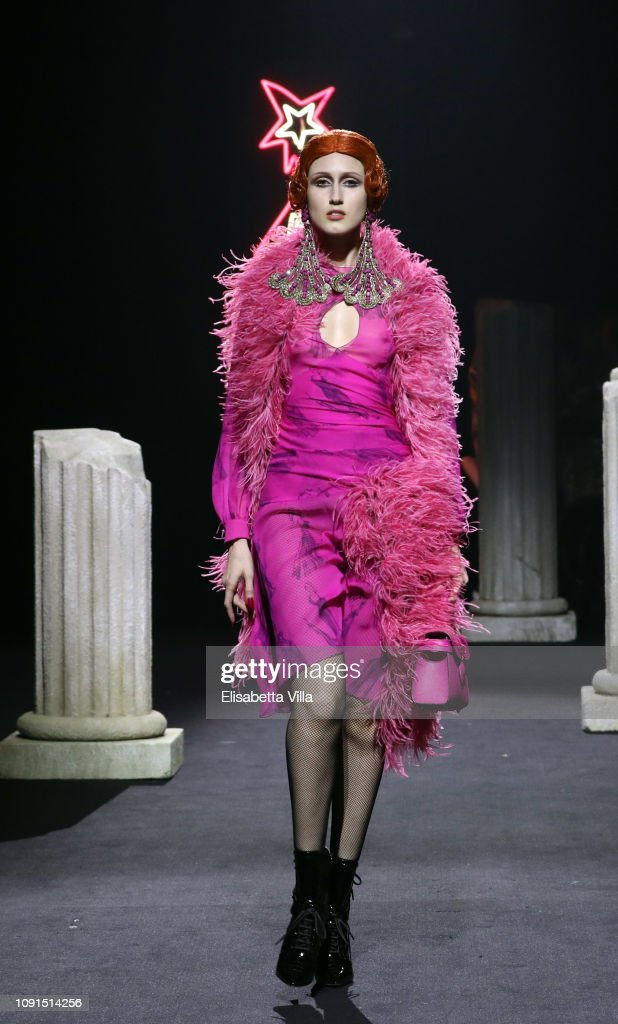 Moschino - Runway - Menswear Collection Autumn/Winter 2019/20 : News Photo