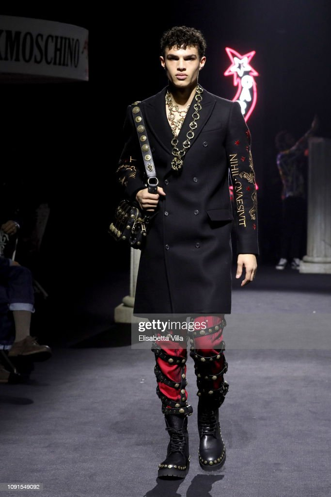 Moschino - Runway - Menswear Collection Autumn/Winter 2019/20 : ニュース写真