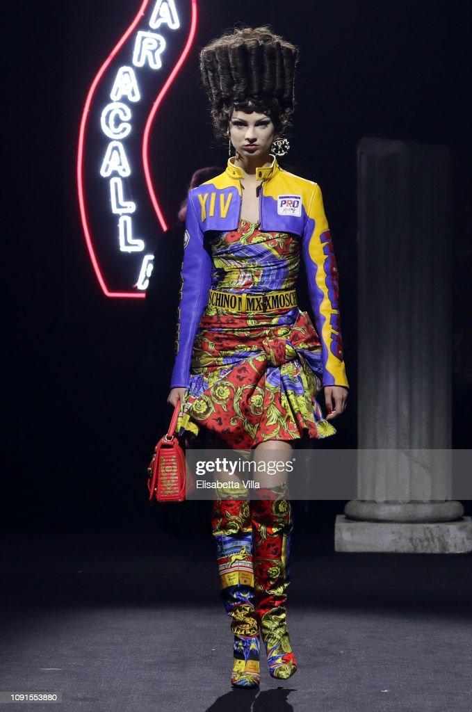 Moschino - Runway - Menswear Collection Autumn/Winter 2019/20 : ニュース写真