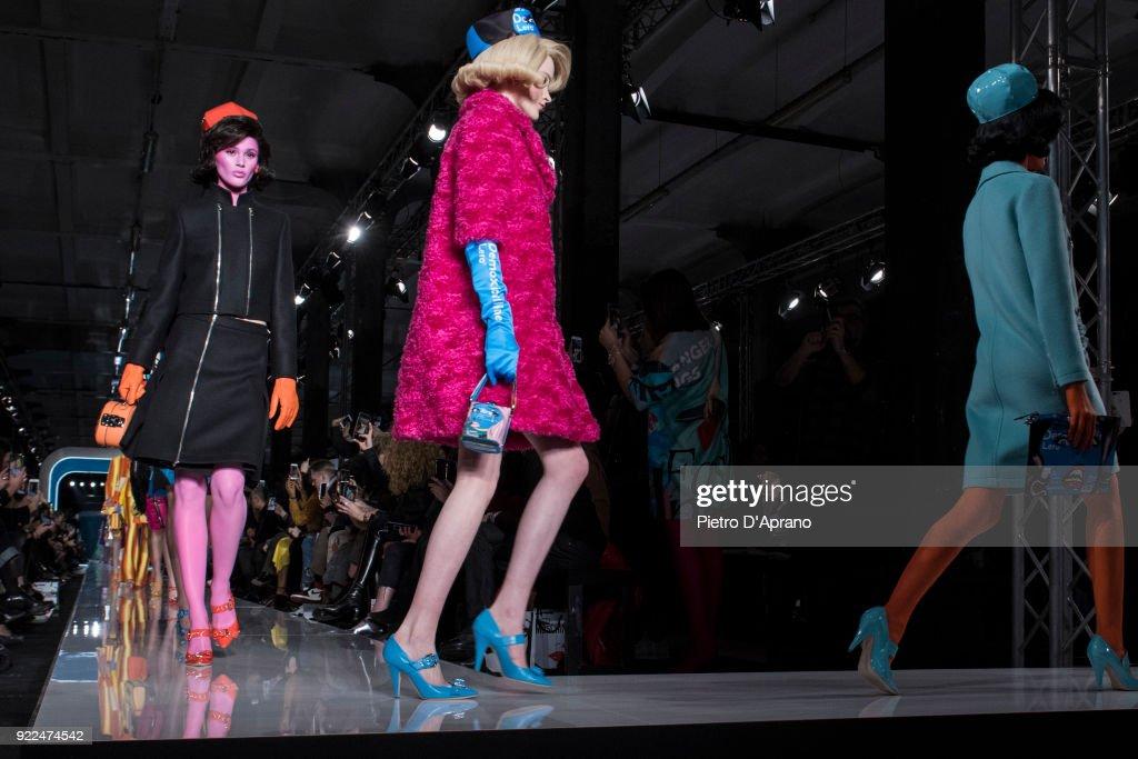 Moschino - Runway - Milan Fashion Week Fall/Winter 2018/19 : Photo d'actualité