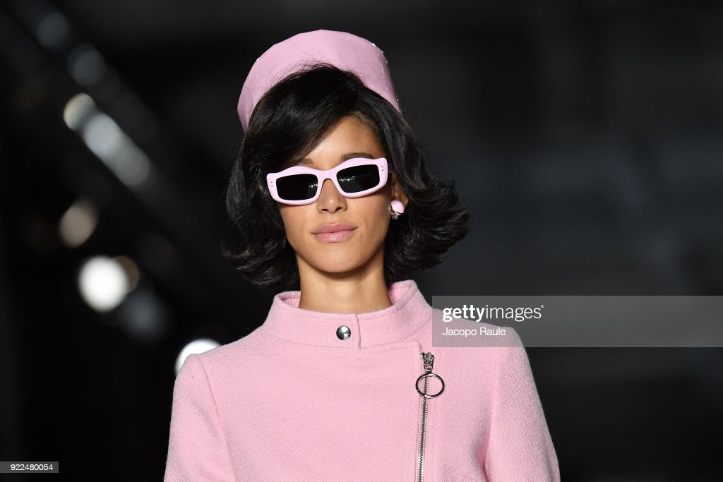 Moschino - Runway - Milan Fashion Week Fall/Winter 2018/19 : ニュース写真