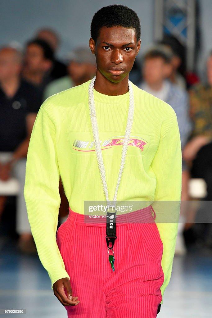 MSGM - Runway - Milan Men's Fashion Week Spring/Summer 2019 : News Photo