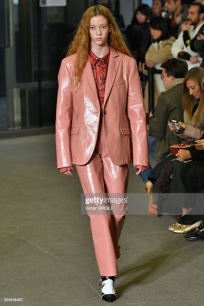 MSGM - Runway - Milan Fashion Week Fall/Winter 2018/19 : News Photo