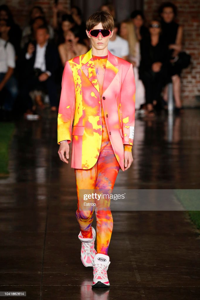 MSGM - Runway - Milan Fashion Week Spring/Summer 2019 : ニュース写真