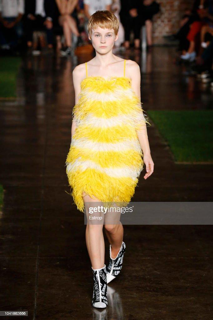 MSGM - Runway - Milan Fashion Week Spring/Summer 2019 : ニュース写真
