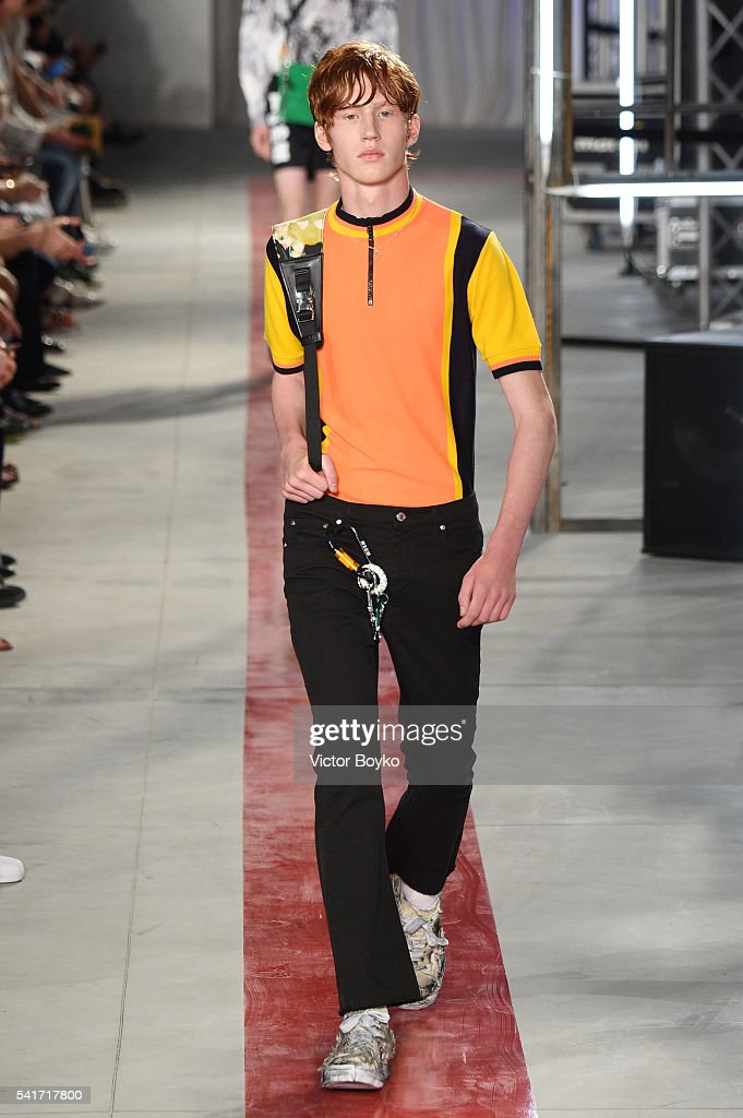 MSGM - Runway - Milan Men's Fashion Week SS17 : News Photo