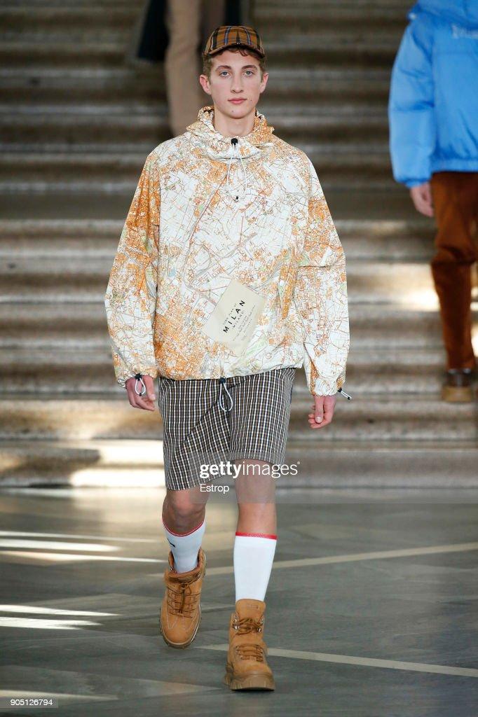 MSGM - Runway - Milan Men's Fashion Week Fall/Winter 2018/19 : News Photo