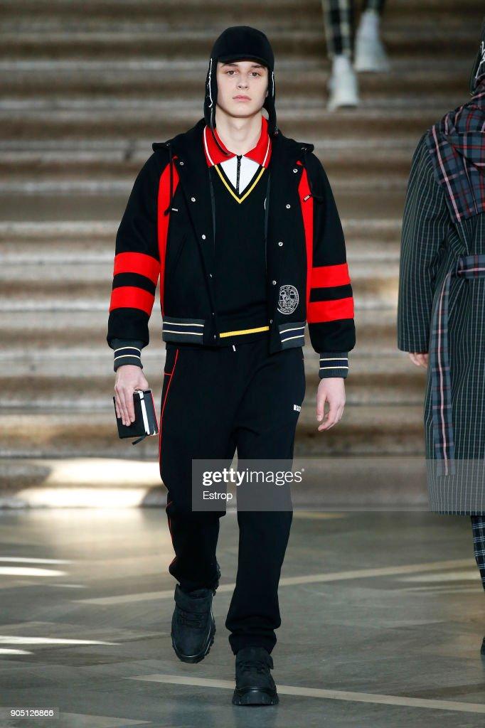 MSGM - Runway - Milan Men's Fashion Week Fall/Winter 2018/19 : ニュース写真