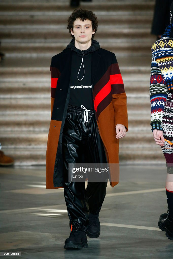 MSGM - Runway - Milan Men's Fashion Week Fall/Winter 2018/19 : Nachrichtenfoto