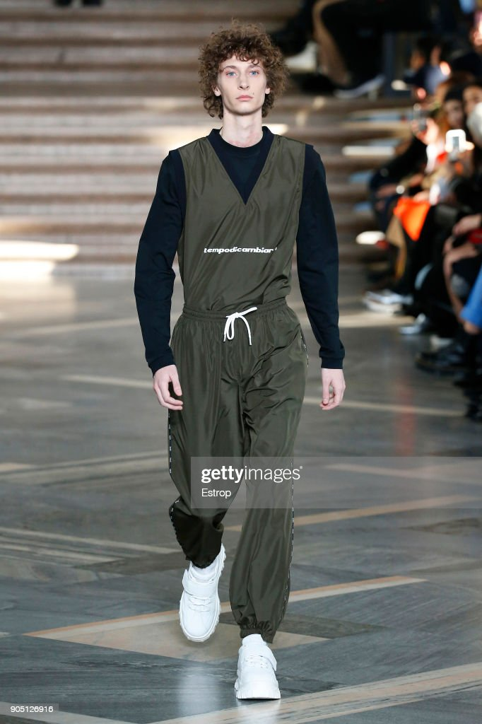 MSGM - Runway - Milan Men's Fashion Week Fall/Winter 2018/19 : Fotografía de noticias