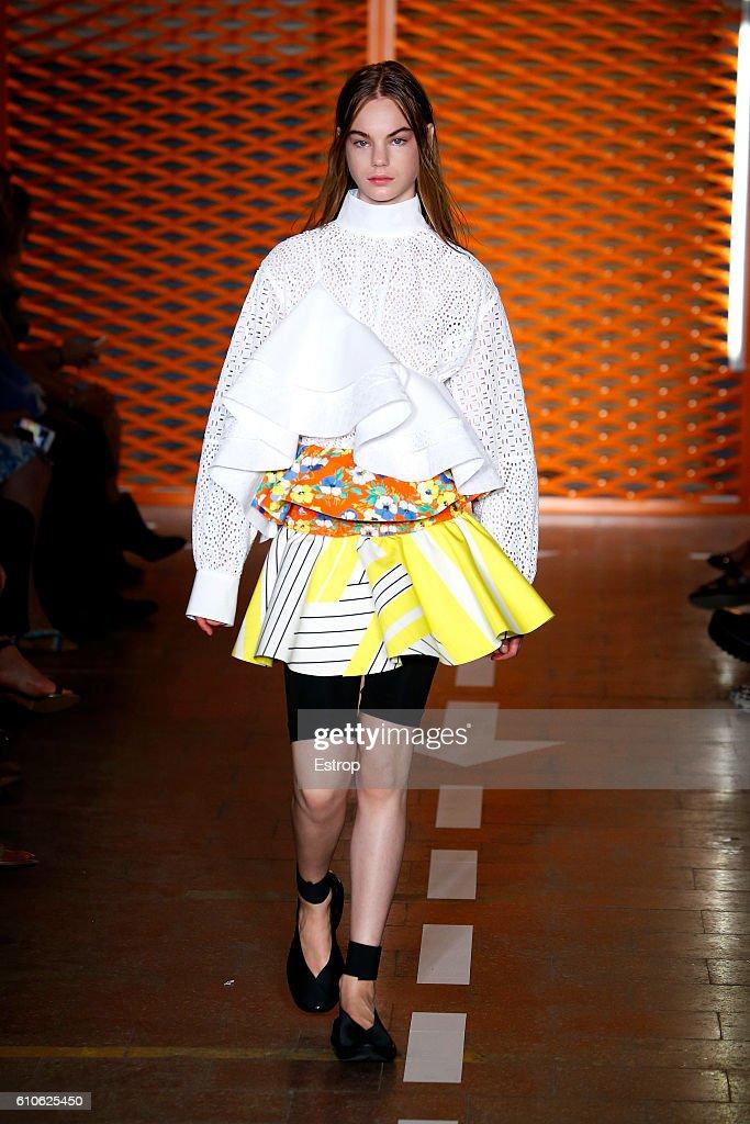 MSGM - Runway - Milan Fashion Week SS17 : News Photo