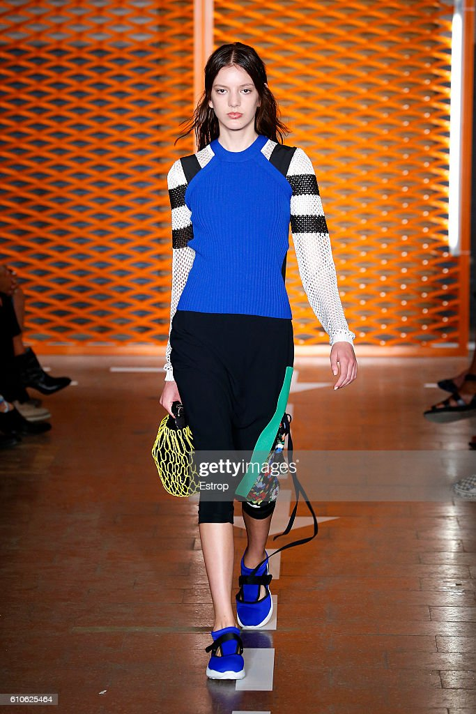 MSGM - Runway - Milan Fashion Week SS17 : News Photo