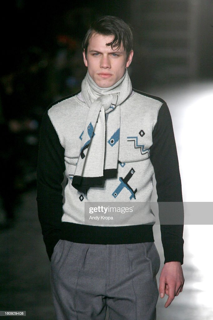 N. Hoolywood Men's - Runway - Fall 2013 Mercedes-Benz Fashion Week