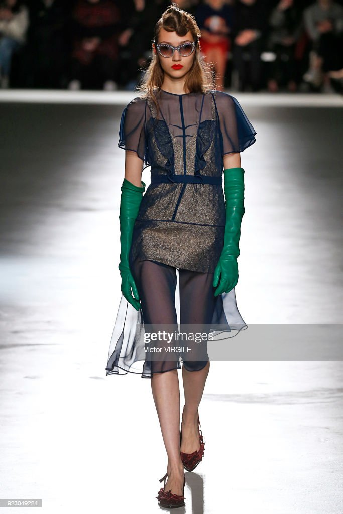 N.21 - Runway - Milan Fashion Week Fall/Winter 2018/19 : Photo d'actualité