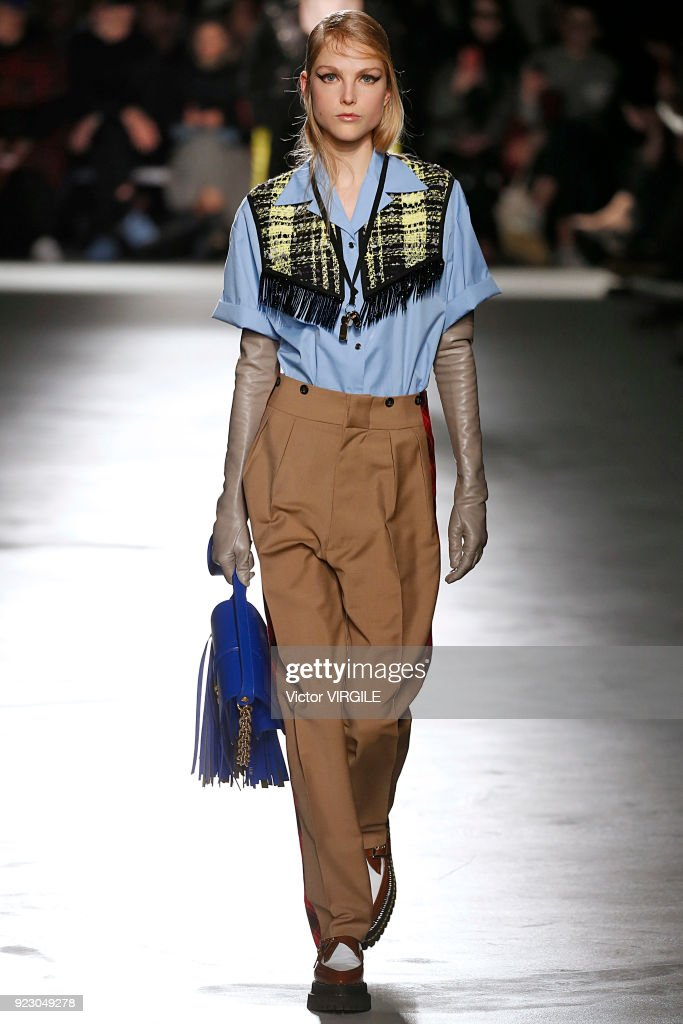 N.21 - Runway - Milan Fashion Week Fall/Winter 2018/19 : Nachrichtenfoto