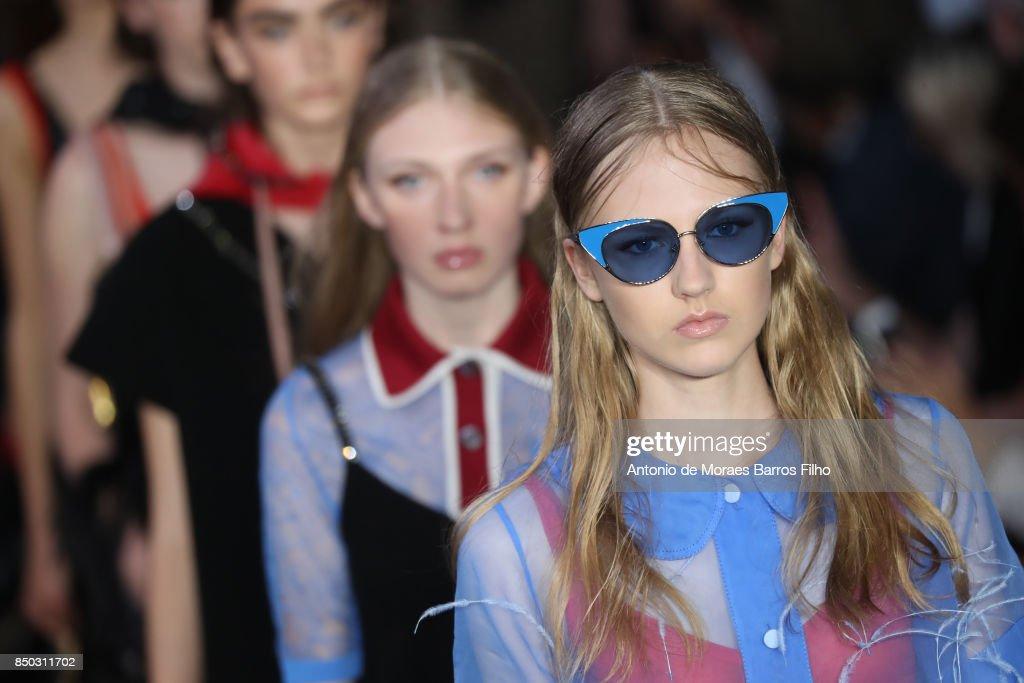 N.21 - Runway - Milan Fashion Week Spring/Summer 2018 : ニュース写真