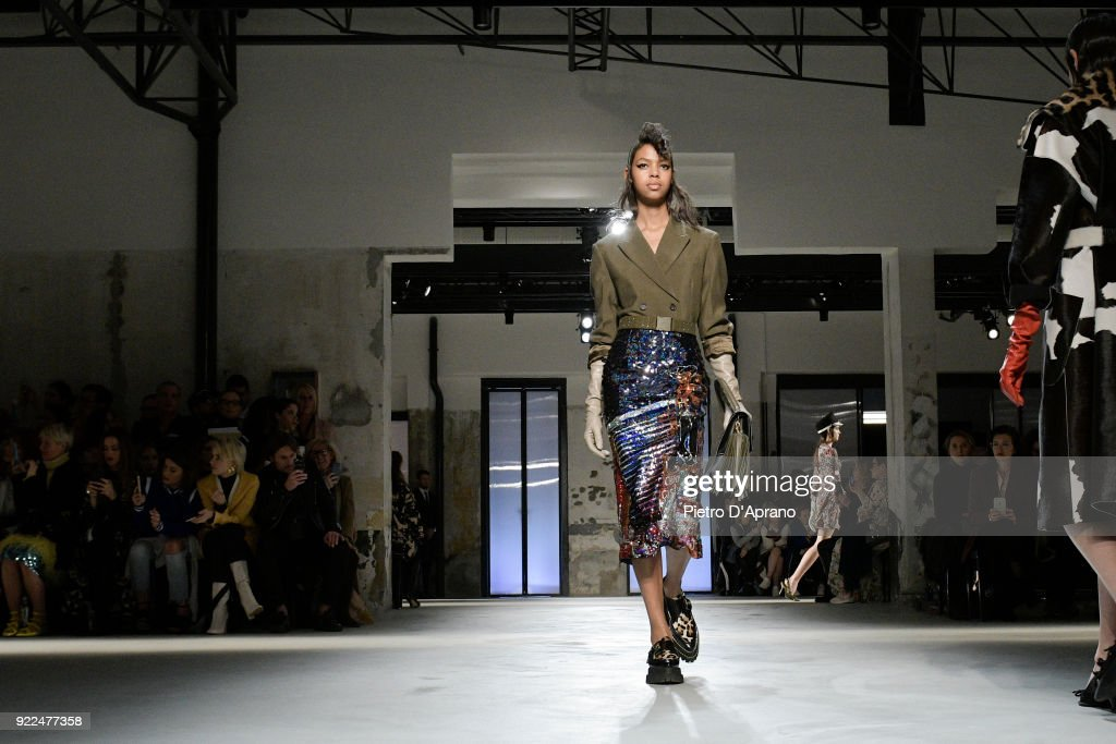 N.21 - Runway - Milan Fashion Week Fall/Winter 2018/19 : ニュース写真