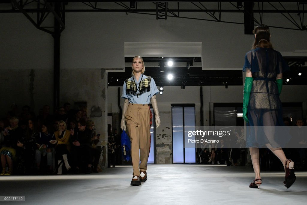 N.21 - Runway - Milan Fashion Week Fall/Winter 2018/19 : Fotografía de noticias