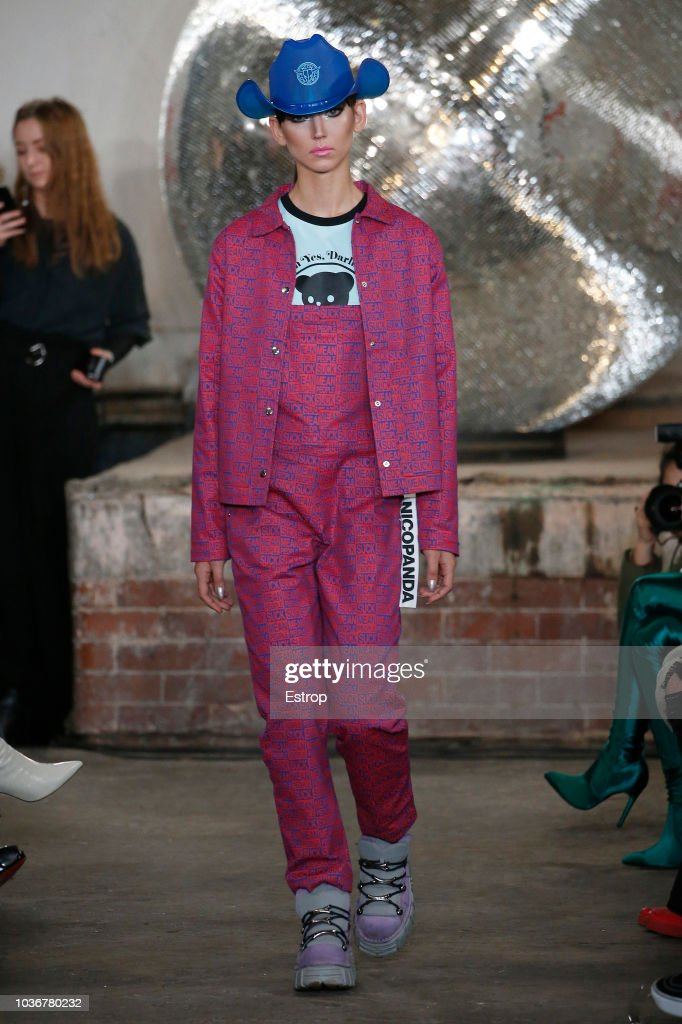 Nicopanda - Runway - LFW September 2018 : News Photo