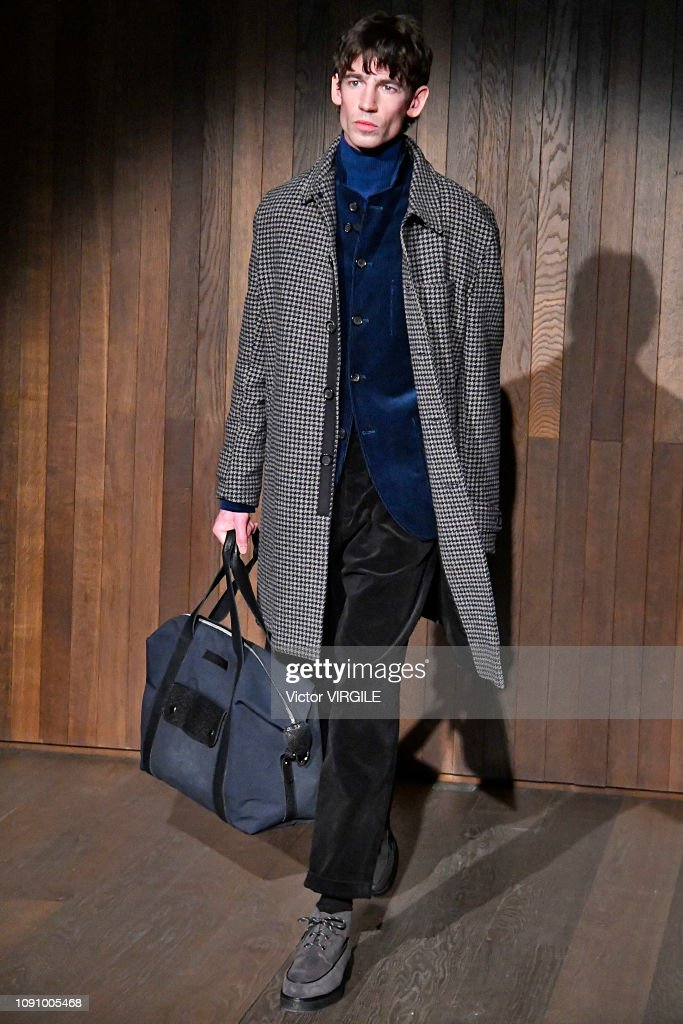 Oliver Spencer - Runway - LFWM January 2019 : ニュース写真