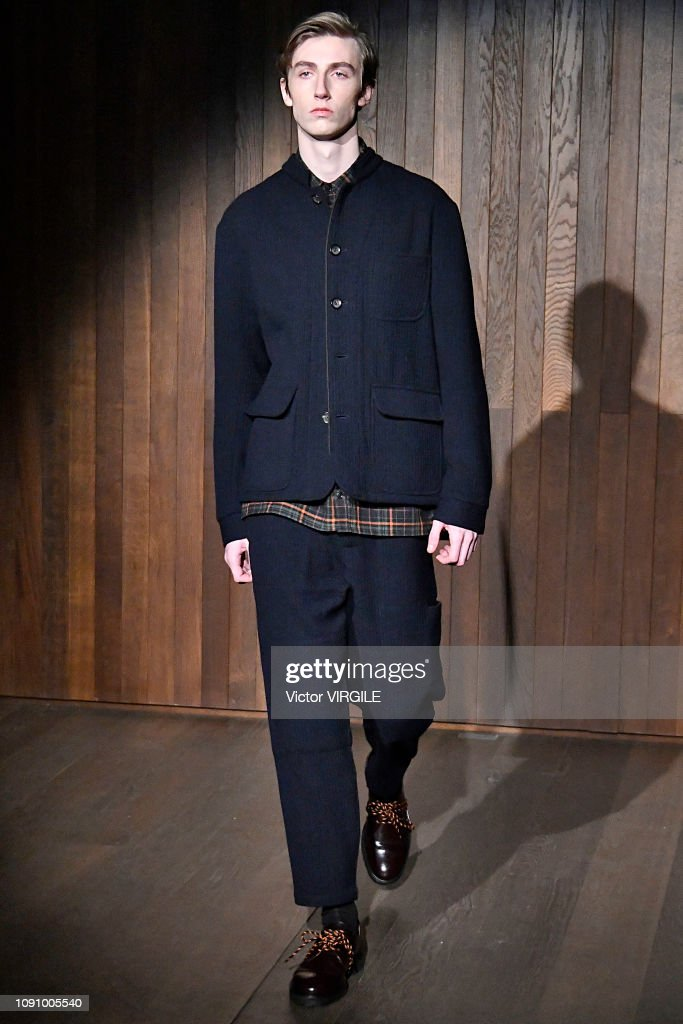 Oliver Spencer - Runway - LFWM January 2019 : Nachrichtenfoto