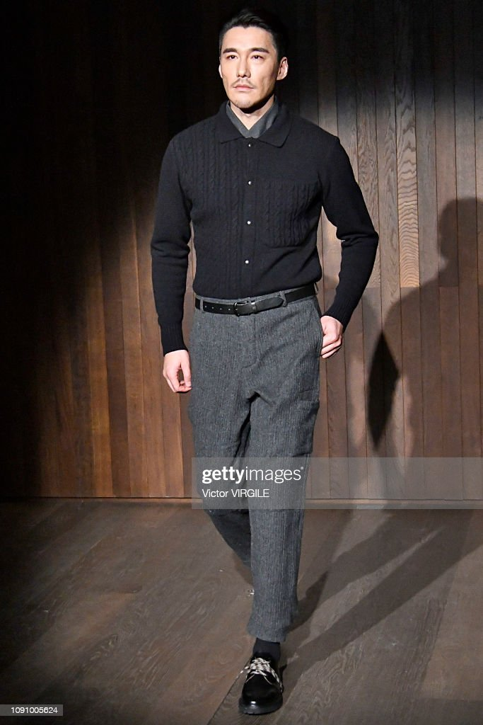 Oliver Spencer - Runway - LFWM January 2019 : News Photo