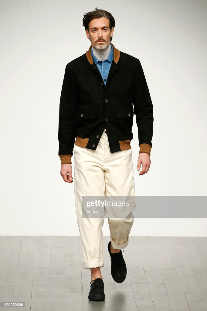 Oliver Spencer - Runway - LFWM January 2018 : ニュース写真
