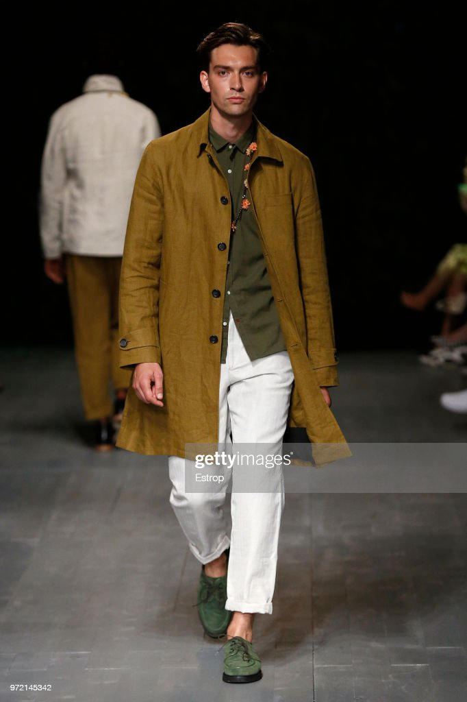 Oliver Spencer - Runway - LFWM June 2018 : ニュース写真