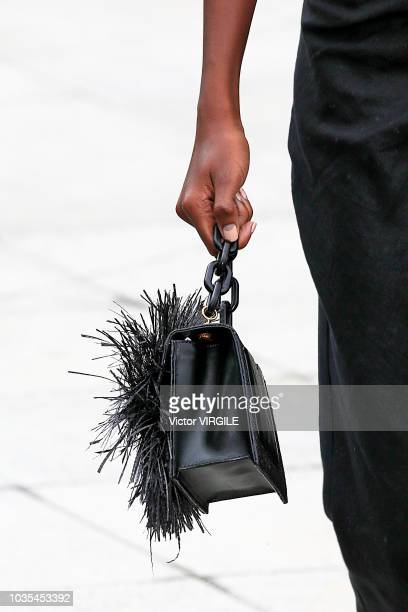 A model walks the runway at the Oscar De La Renta Ready to Wear Spring/Summer 2019 fashion show during New York Fashion Week on September 11 2018 in...