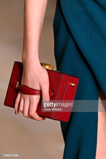 Model walks the runway at the Oscar De La Renta Ready to Wear Fall/Winter 2020-2021 during New York Fashion Week on February 10, 2020 in New York...