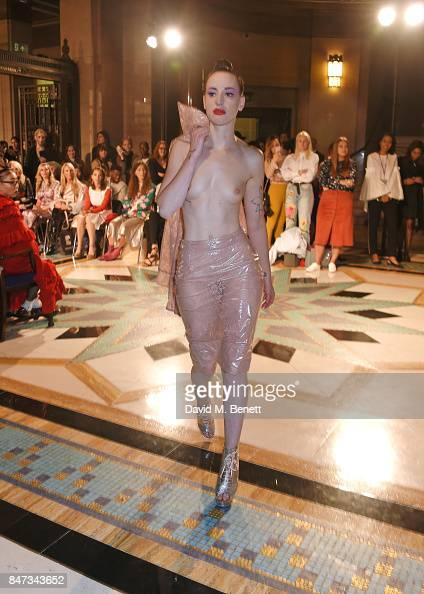 WM.TV: Naked Model Walks Runway For Pam Hogg At London