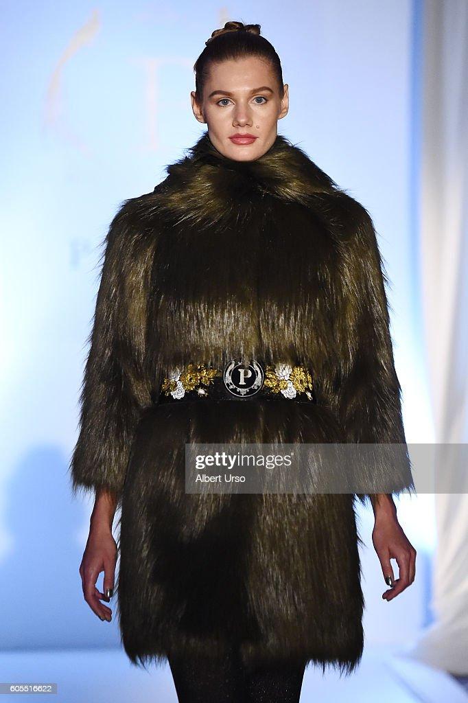 NY: Pelush - Luxury Faux Furs By Anna Tagliabue - Runway - September 2016 - New York Fashion Week