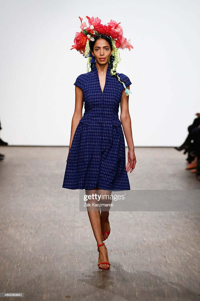 Piroshka Show Mercedes Benz Fashion Week Berlin Springsummer 2016
