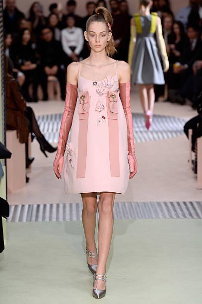 0f36bdfee054d A model walks the runway at the Prada Autumn Winter 2015 fashion show  during Milan Fashion