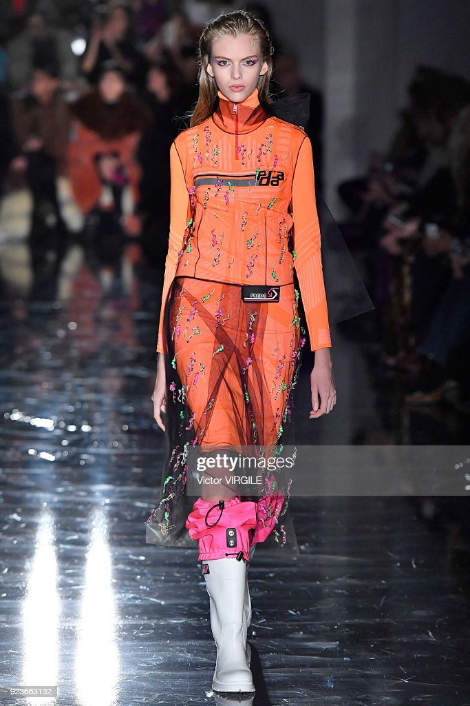 Prada - Runway - Milan Fashion Week Fall/Winter 2018/19 : Nieuwsfoto's
