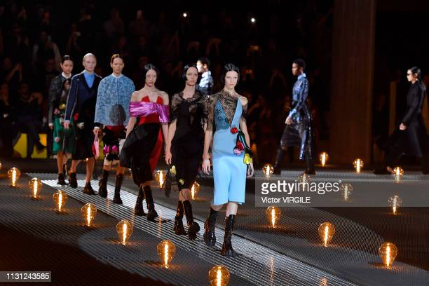19 894 Prada Runway Photos And Premium High Res Pictures Getty Images