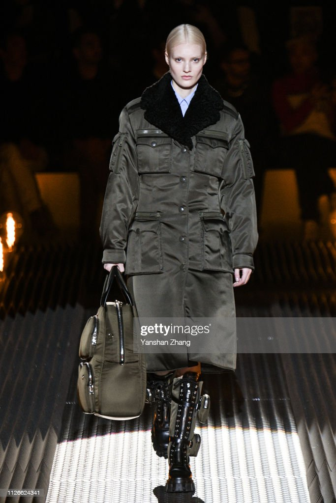 Prada - Runway: Milan Fashion Week Autumn/Winter 2019/20 : Foto di attualità