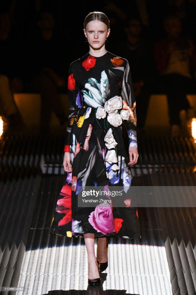 Prada - Runway: Milan Fashion Week Autumn/Winter 2019/20 : Foto di attualità