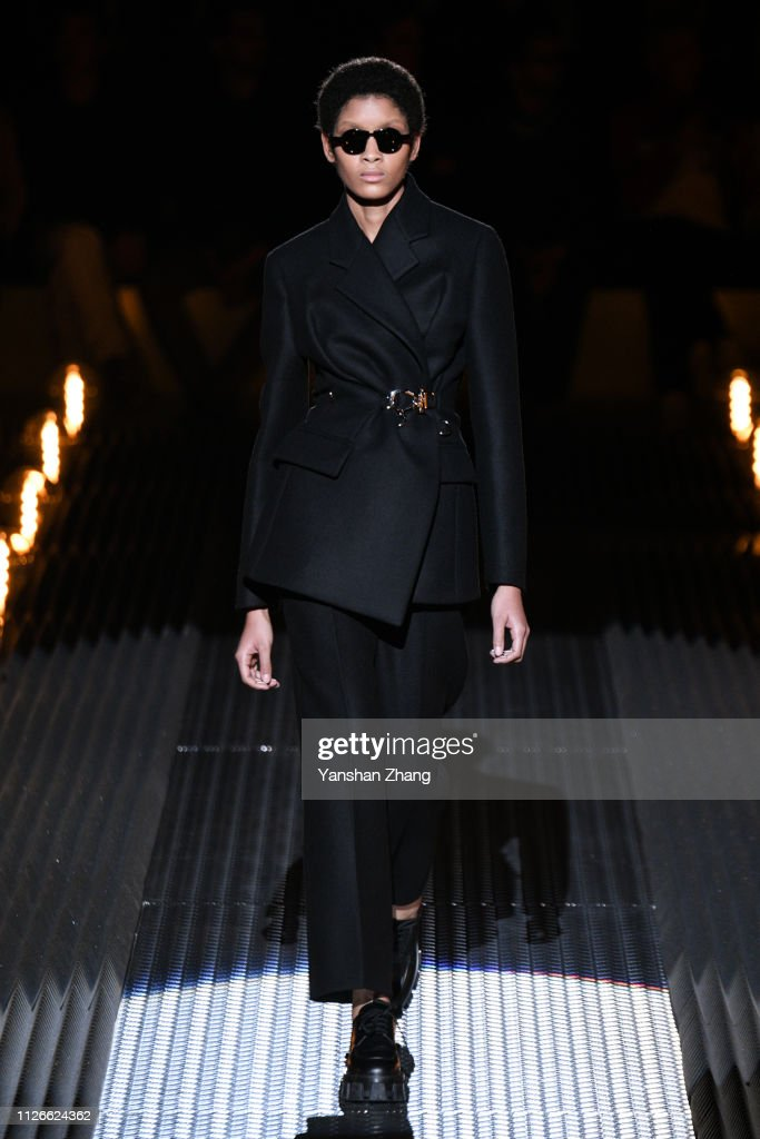Prada - Runway: Milan Fashion Week Autumn/Winter 2019/20 : News Photo