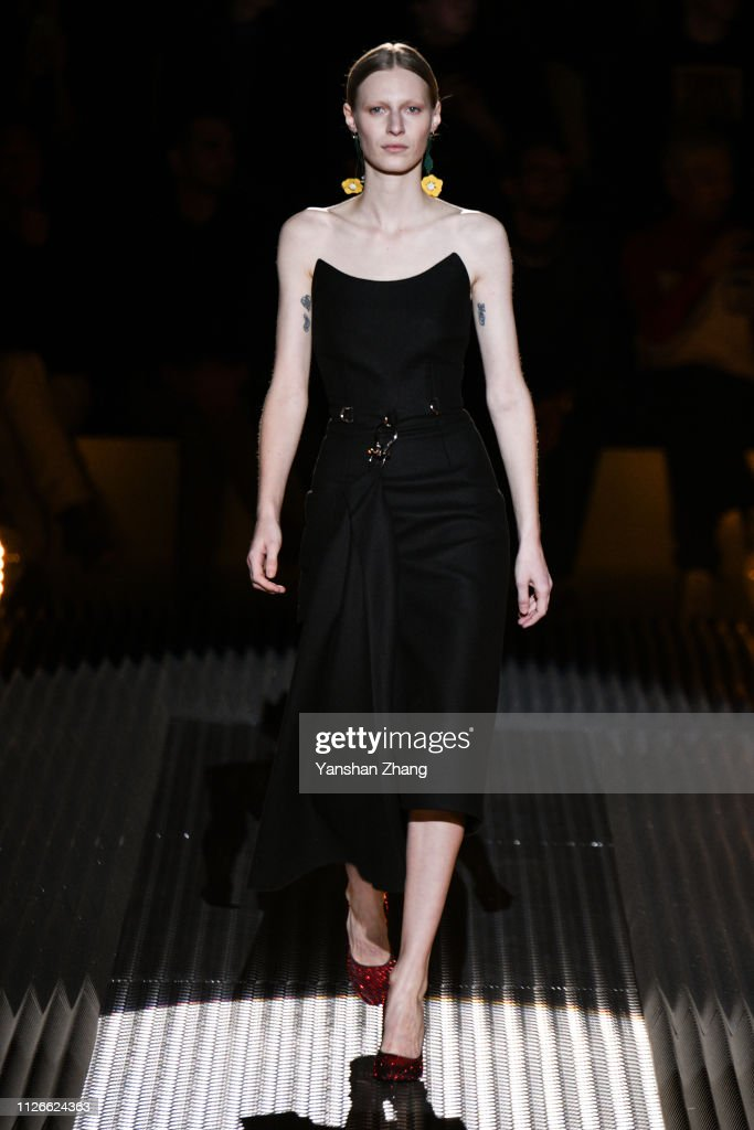 Prada - Runway: Milan Fashion Week Autumn/Winter 2019/20 : News Photo